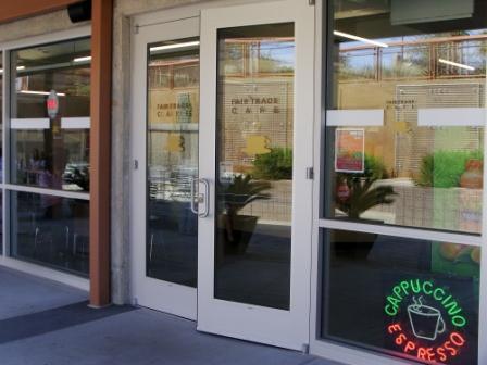 Fair Trade Door