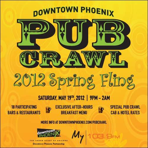 Spring Fling Pub Crawl Returns May 19 Downtown Phoenix Inc