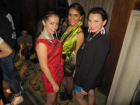 """At the University of Michigan Beyond Buckskin fashion show. Students model Red and Turquoise Tunic dresses by Alano Edzerza (Tahltan), Yellow Mitchtewa scarf wrap by Virgil Ortiz (Cochiti Pueblo), beaded yellow earrings by Jovi Pacheco, Blue earrings by Mea B'fly (Navajo/Hopi), turquoise beaded earrings by Turquoise Soul (Ojibwe). Photo credit: Jessica R. Metcalfe (Turtle Mountain Chippewa). November 2012.""""]<img class=""""size-medium wp-image-8828"""" src=""""https://dtphx.org/wp-content/uploads/2013/02/UMich-Event-180x135.jpg"""" alt="""" At the University of Michigan Beyond Buckskin fashion show. Students model Red and Turquoise Tunic dresses by Alano Edzerza (Tahltan), Yellow Mitchtewa scarf wrap by Virgil Ortiz (Cochiti Pueblo), beaded yellow earrings by Jovi Pacheco, Blue earrings by Mea B'fly (Navajo/Hopi), turquoise beaded earrings by Turquoise Soul (Ojibwe). Photo credit: Jessica R. Metcalfe (Turtle Mountain Chippewa). November 2012."""