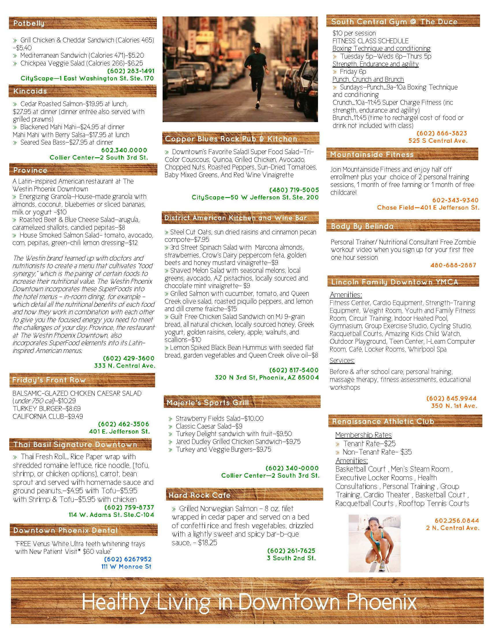Healthy Lifestyle in Downtown Phoenix Listing FINAL 10182013_Page_2