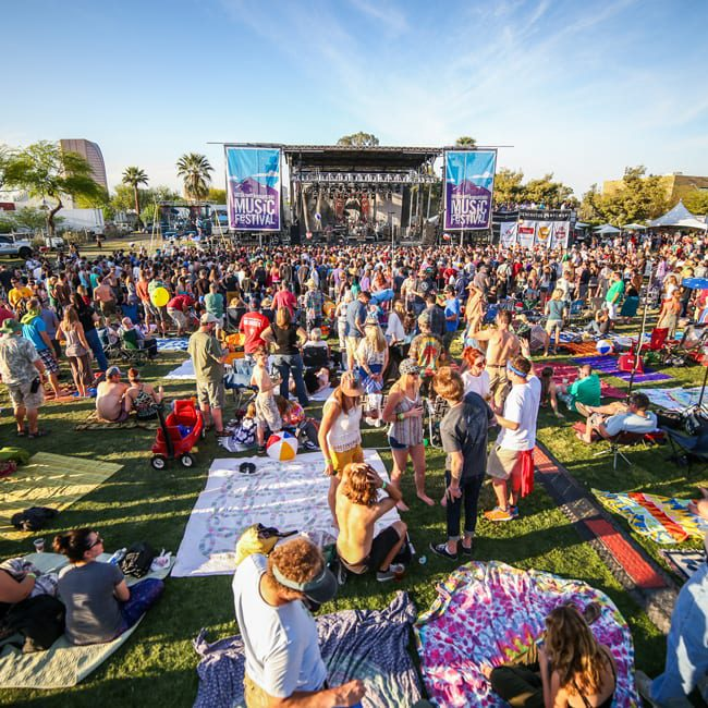 McDowell Mountain Music Festival drew a packed crowd to Margaret T. Hance Park March 28-30, 2014.