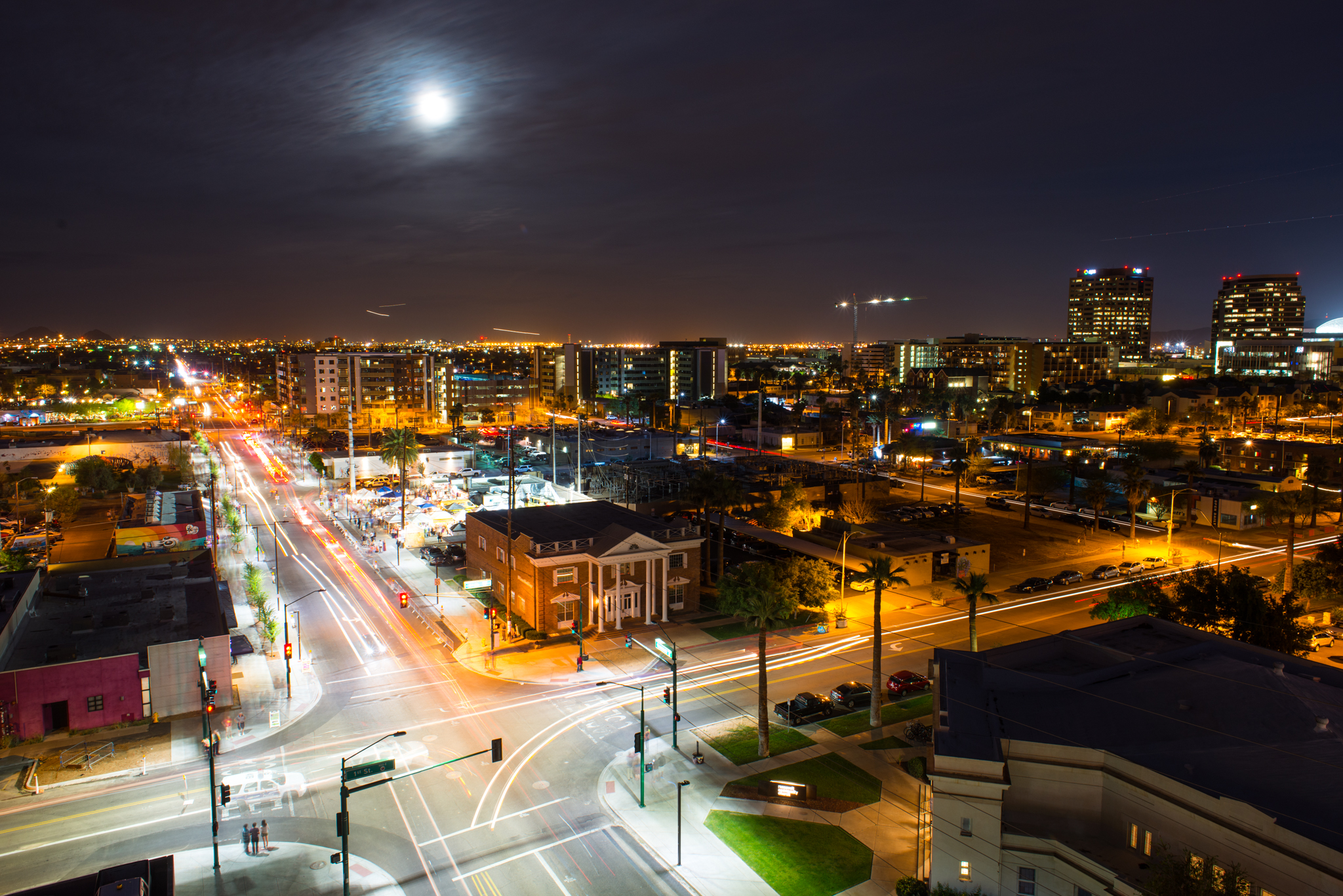 Downtown Phoenix Development Roosevelt Row