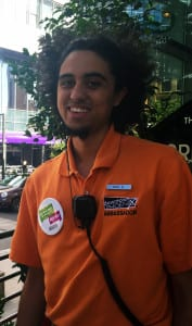 Nicks Davis works as a Downtown Phoenix Ambassador and attends ASU.