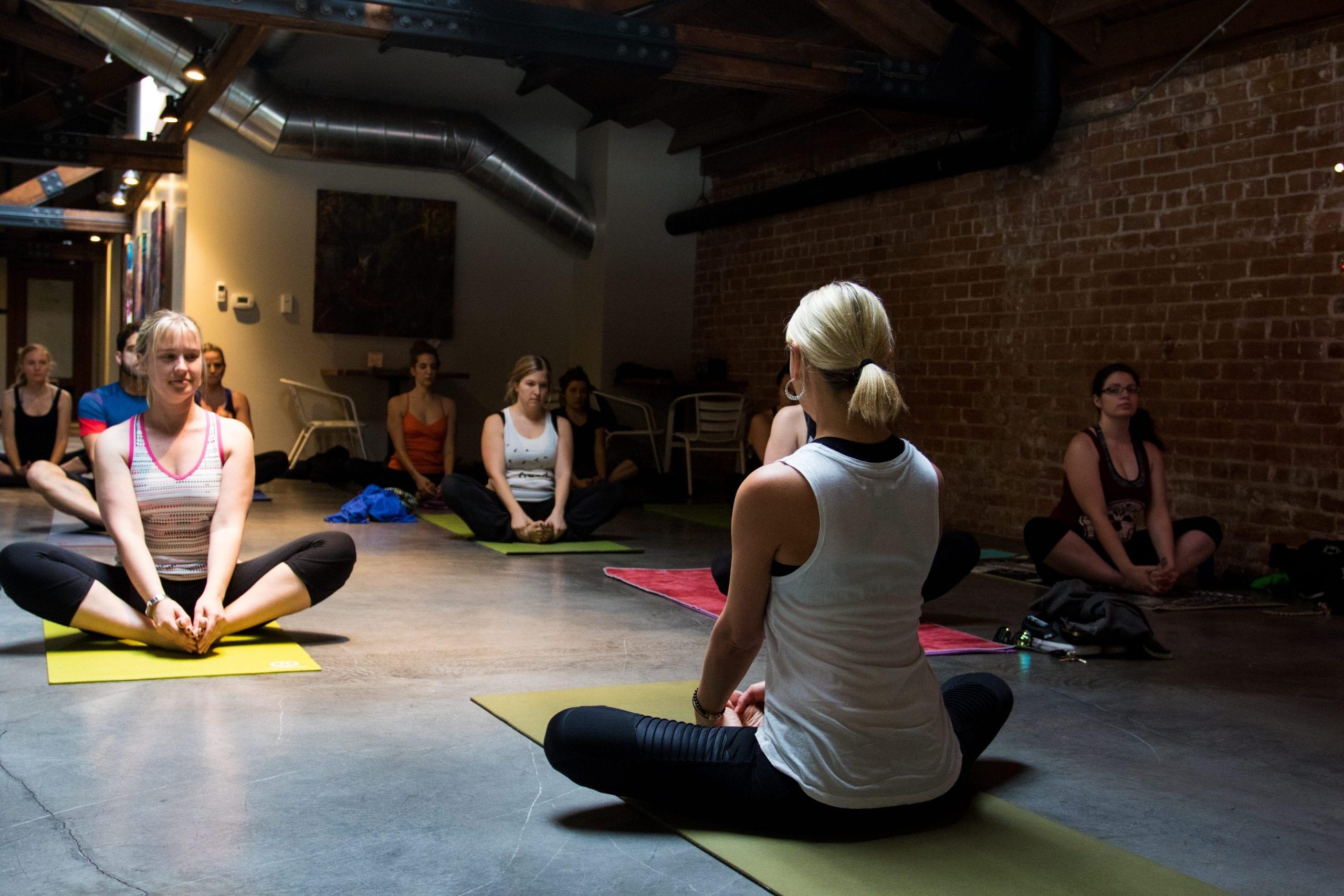 Urban Yoga at DeSoto