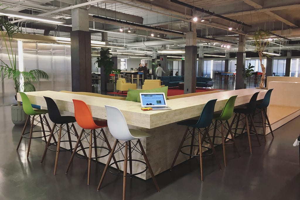 The Department co-working space was designed with entrepreneurs, nonprofits, investors and creatives in mind, featuring several conference rooms, an abundance of different work spaces, and three membership levels ranging from private offices to a monthly drop-in. (Photo: Brandi Porter)