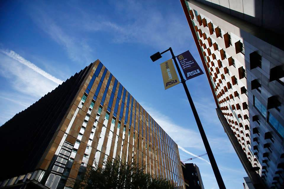 The Arizona Center for Law and Society is now under construction on the ASU downtown campus. (Photo: ASU Sandra Day O'Connor College of Law)