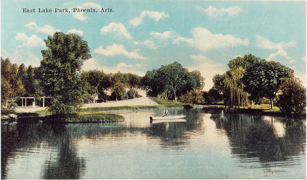 Early Eastlake Park postcard