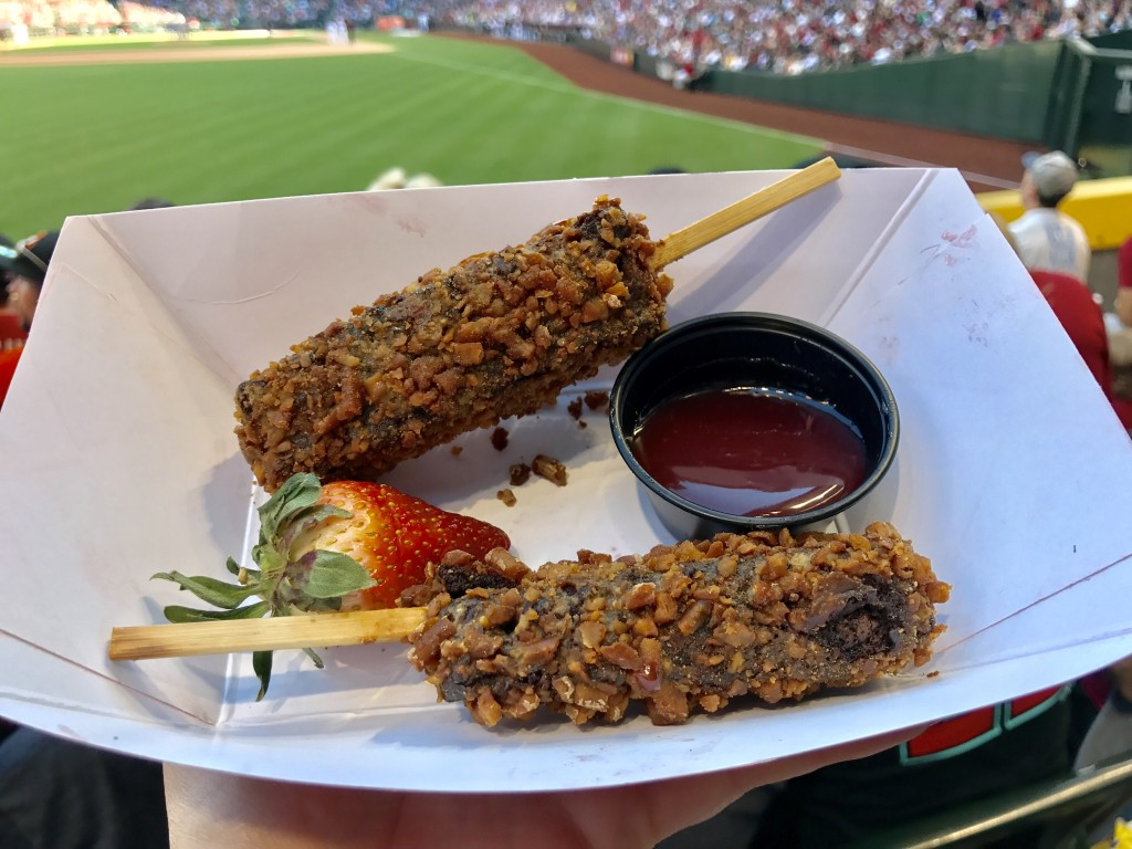 Pretzel Crusted Brownie Sticks Dbacks Chase Field
