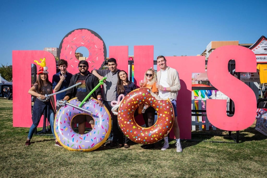 (Photo: Downtown Donut Festival by Jacob Tyler Dunn)