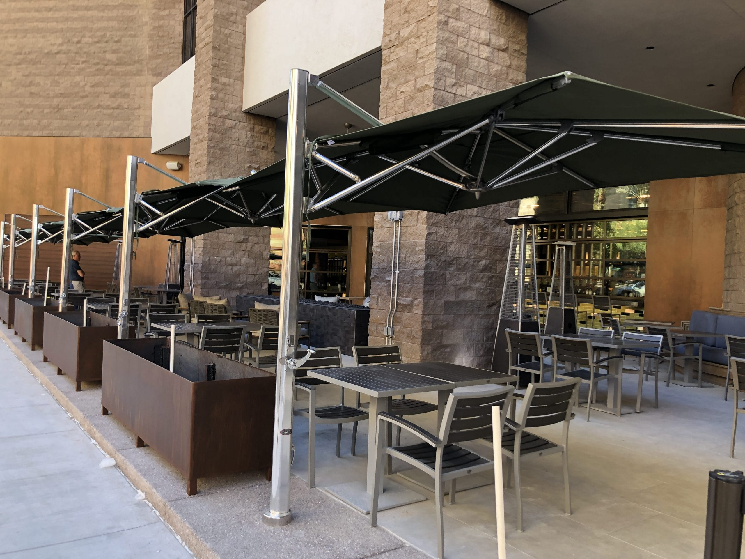Bushel and Barrel Patio Hyatt