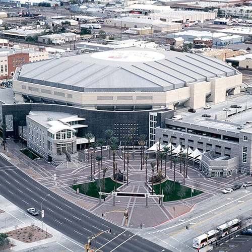 Talking Stick Resort Arena opened as the benchmark for other cities and other sports facilities.