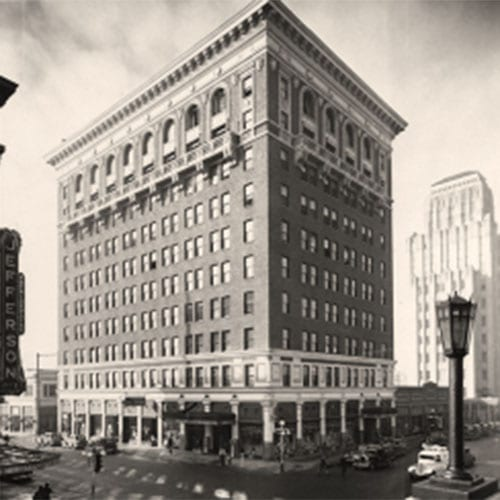 The Luhrs Building opened up, housing the Arizona Club on the four upper floors.