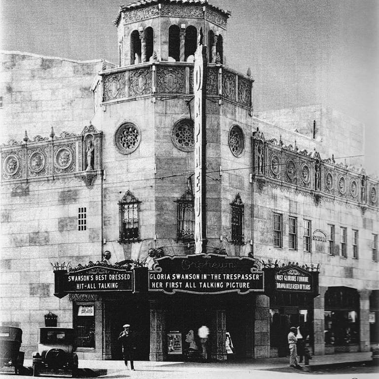 The Orpheum Theatre was the last and largest major construction project in Phoenix just before the Great Depression.