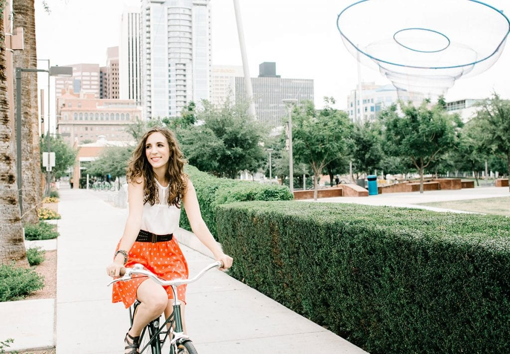Quinn Tempest Biking