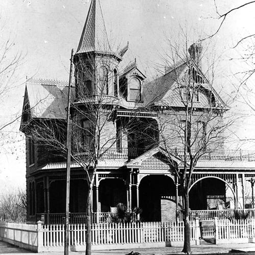 The Rosson House was built for Dr. and Mrs. Roland Lee Rosson. It was one of the most prominent and beautiful homes in Phoenix.