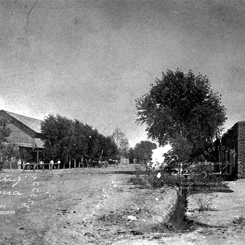The Phoenix townsite was founded with a population of 240 people.