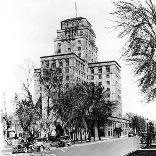 The Hotel Westward Ho was completed.