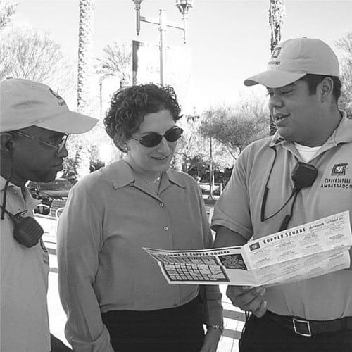 Phoenix's Business Improvement District (BID) was established, managed by the Downtown Phoenix Partnership (DPP).