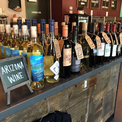 GenuWine Arizona Wine Bar is a popular stop for Wine Walk.