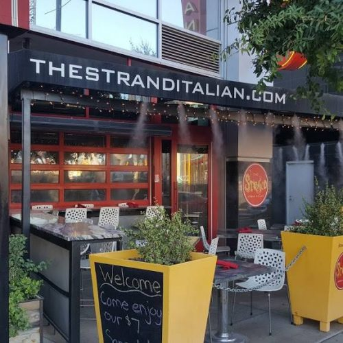 the strand patio